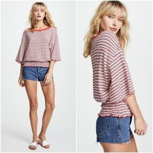 NWT Free People Ebony Tee